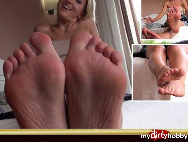 Massiere mir meine Füße, Fußlecker!
