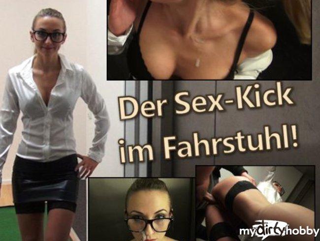 Der Sex-Kick im Fahrstuhl!