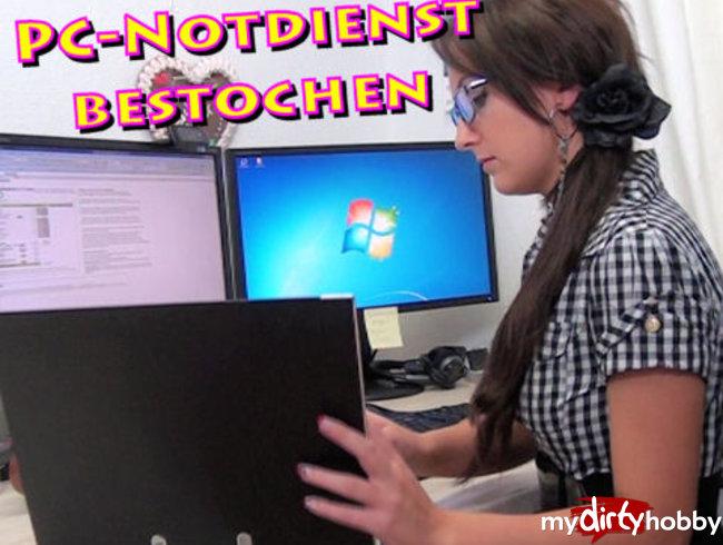 Vom PC-Notdienst bestochen (Rollenspiel)