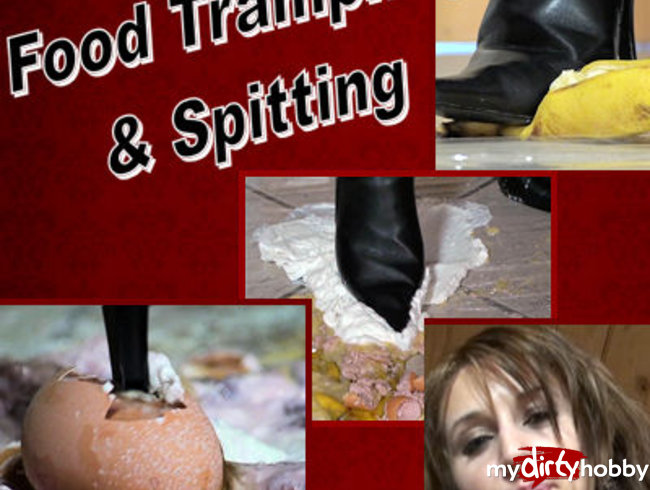 Food Trampling & Spitting Fetish