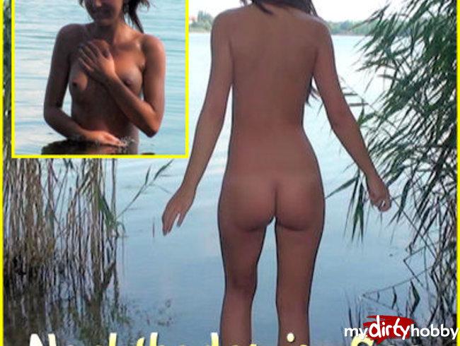 Nacktbaden im See